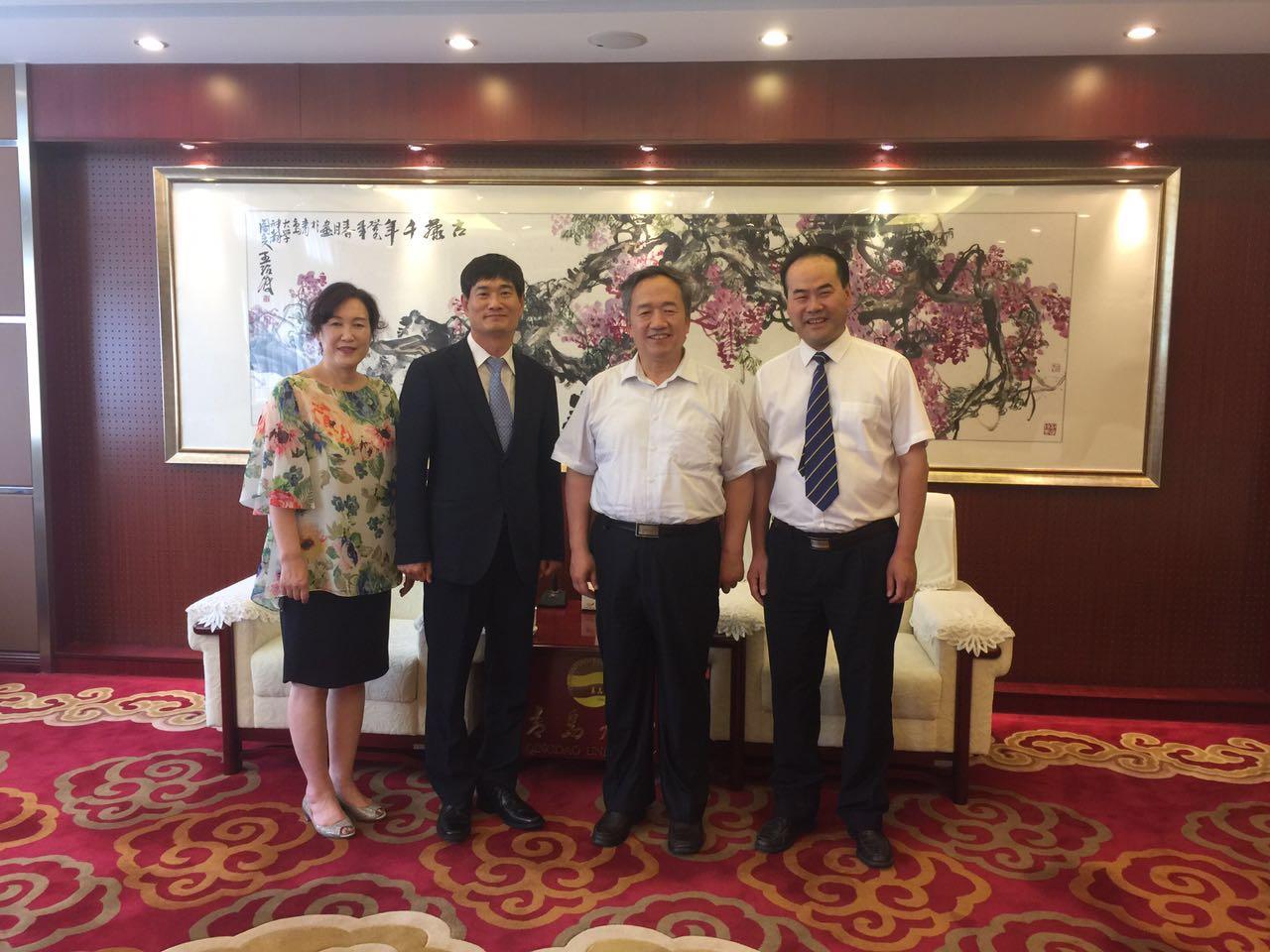 我校与韩国东义科学大学首批合作培养项目顺利结业